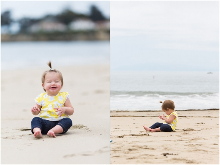 Beach Baby Photos - Green Vintage Photography