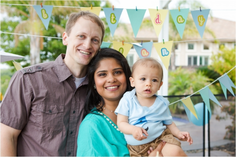 Boys First Birthday Party - Green Vintage Photography