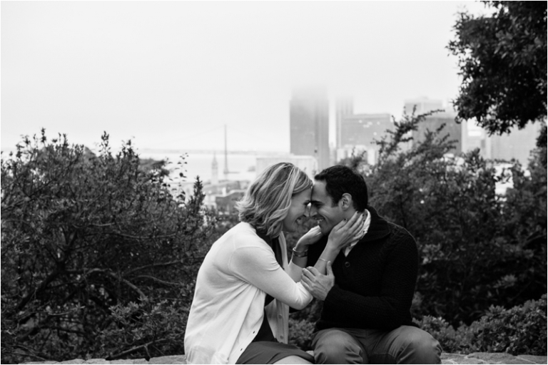San Francisco Embarcadero Engagement Photos