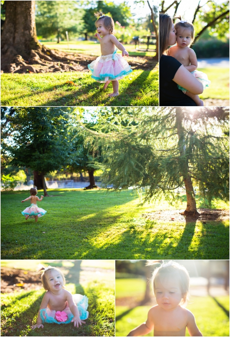 FIRST BIRTHDAY TUTU PHOTO SHOOT