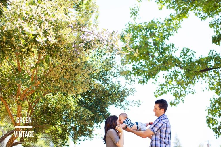 folsom family photographer 8 month old pictures